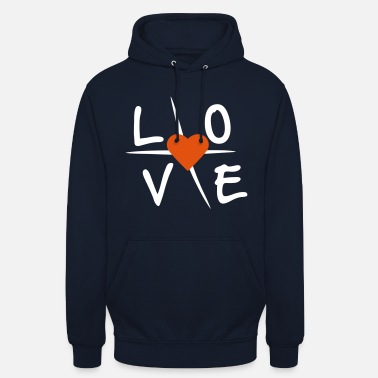 Love With Heart Love with heart - Unisex Hoodie