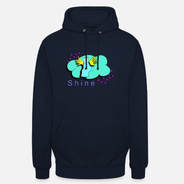 angel shine cloud stars - Unisex Hoodie