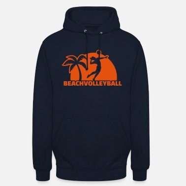 Beachvolleyball Beachvolleyball - Bluza z kapturem unisex