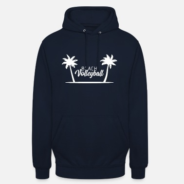 Beach Volleyball Beach volleyball beach volleyballer gift palm - Unisex Hoodie