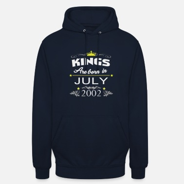 July 2002 July 18th birthday gift - Unisex Hoodie