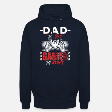 Dad Dad By Day Gamer By Night - Unisex Hoodie