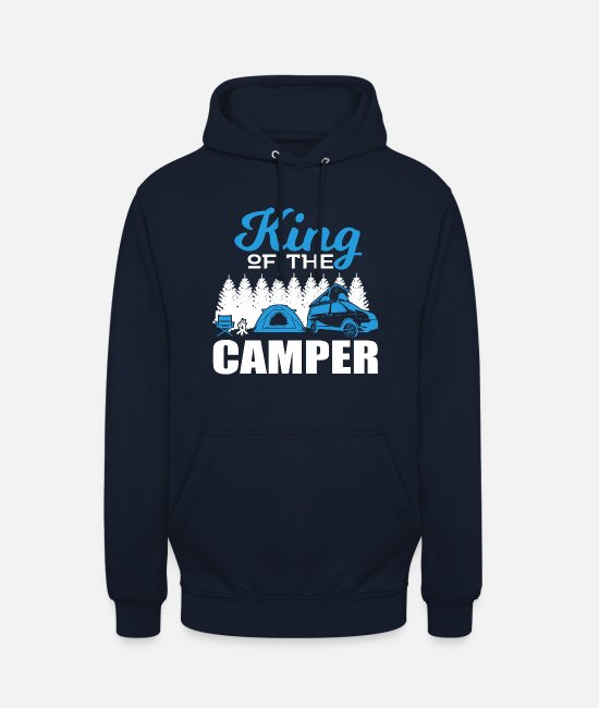 Camper Sweaters & hoodies - Camping Camper T-Shirt Nature and Travel - Unisex hoodie navy