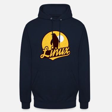 Linux Linux T-Shirt - A great gift. - Unisex Hoodie