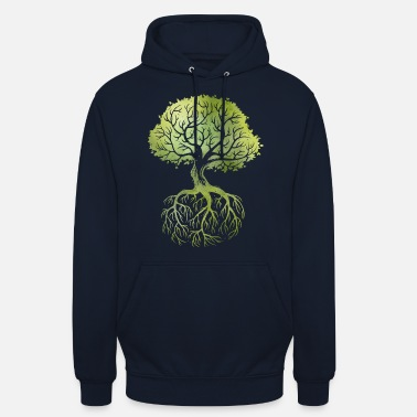 Arbre Roots - Sweat à capuche unisexe