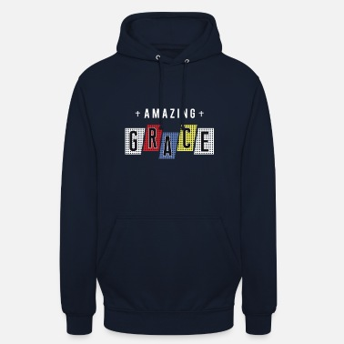 Amazing Grace - Christliches Design - Unisex Hoodie