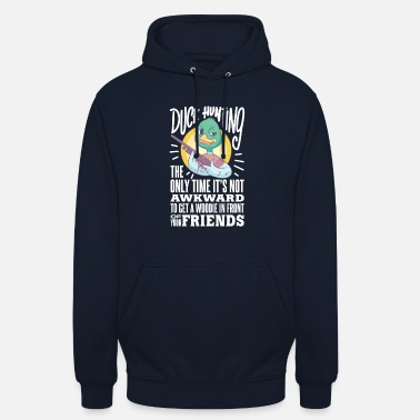 CACCIA ALL'ANATRA: Duck Hunting Time - Hoodie unisex