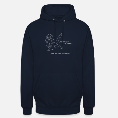 Maybe you are smart, but we have the balls! - Unisex Hoodie