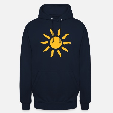 Symbols-shapes sun sunshine symbols shapes - Unisex Hoodie