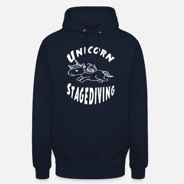 Stagediving Unicorn stagediving - Unisex Hoodie