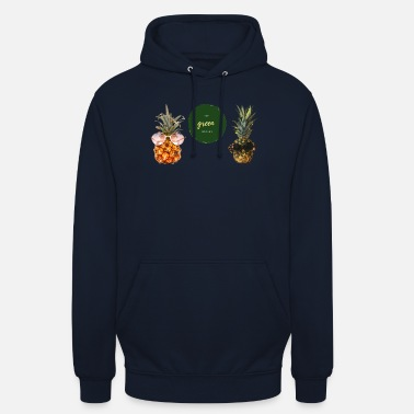 The green Nature of Ananas - Unisex Hoodie