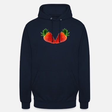 Two kissing strawberries - Unisex Hoodie