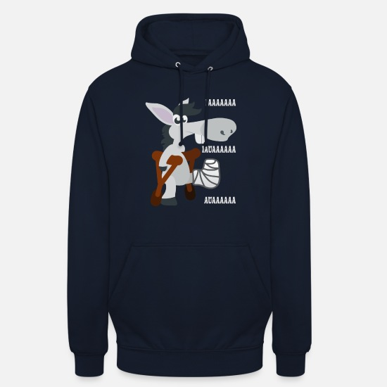 Pet Hoodies & Sweatshirts - Animal Pet Animal Motif Gift Idea Animal Shirt - Unisex Hoodie navy