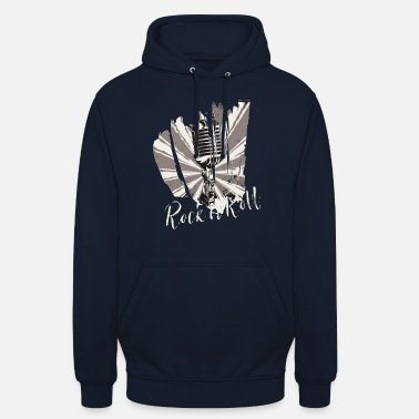 Rockabilly Rock n'Roll rockabilly heavy metal cadeau cool - Unisex hoodie