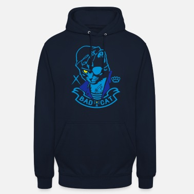 Coltclothing Bad Cat - SailorCat - Unisex Hoodie