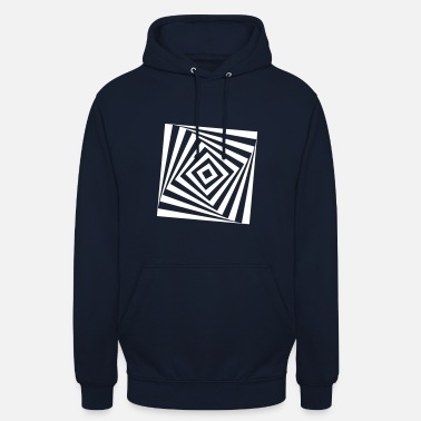 Turn The Rectangle Rotates rotating rectangle - Unisex Hoodie