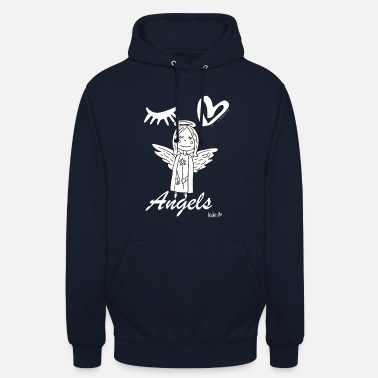 Eye-Love Angels figure - Unisex Hoodie