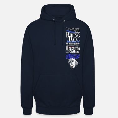 Reiter Limited Edition Riding Dad Pferd Reiten - Unisex Hoodie