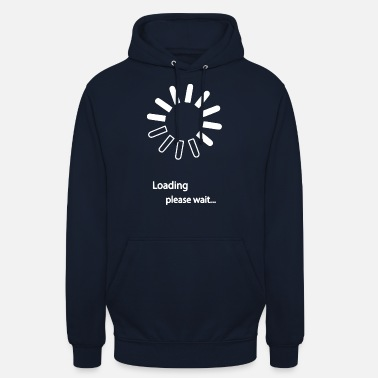 Computer Loading Please wait - Unisex Hoodie