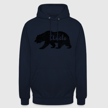 Uncle Bear Gifts idea for uncles. Camping Wildlife - Unisex Hoodie