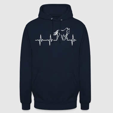 The pulse of a horse - Unisex Hoodie