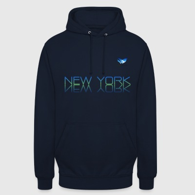 Espace Atlas T-shirt de New York - Sweat-shirt à capuche unisexe