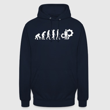 Evolution Technician Technology White - Unisex Hoodie
