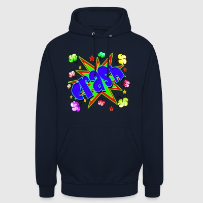 Vector Comic Buch Crash - Unisex Hoodie