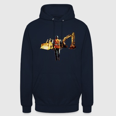 Diggers and Dozers - Unisex Hoodie