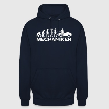 Evolution mechanic mechanic wt - Unisex Hoodie