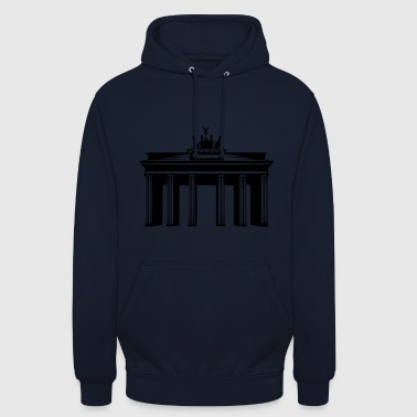 Brandenburg gate - Sweat-shirt à capuche unisexe