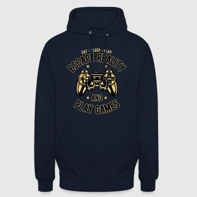 2541614 134867138 Gaming - Sweat-shirt à capuche unisexe