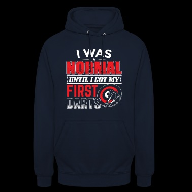 DART I WHAT NORMAL UNTIL I GOT DARTS - Unisex Hoodie