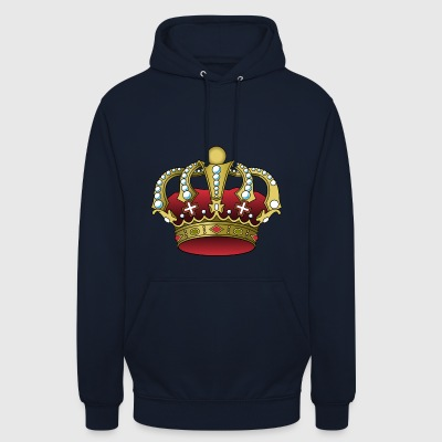 Couronne de roi - Sweat-shirt à capuche unisexe