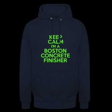 Finisseur de béton Boston - Sweat-shirt à capuche unisexe