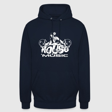 SPEER House Music - Sweat-shirt à capuche unisexe