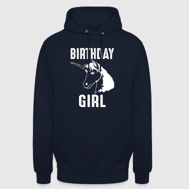 Unicorn Birthday Girl Birthday Girl - Hoodie unisex