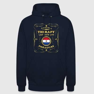 DON T NEED THERAPIE GO TO PARAGUAY - Unisex Hoodie