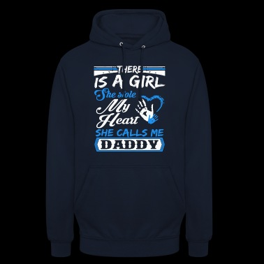 Daughter Calls Me Daddy Gift T-shirt - Unisex Hoodie
