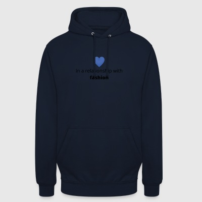 gift single taken relationship with fashion - Unisex Hoodie
