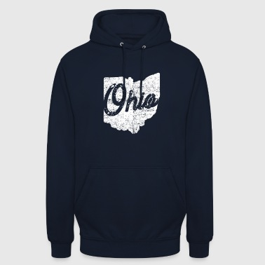 Shirt Ohio casa Distressed - Felpa con cappuccio unisex
