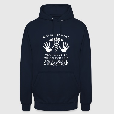 Massage Therapy Hands Physio Gift - Unisex Hoodie