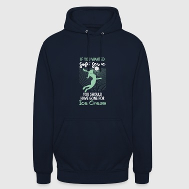 Volleyball - Well served like ice cream - Unisex Hoodie