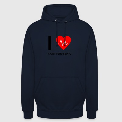 I Love Saint Petersburg - I love St. Petersburg - Unisex Hoodie