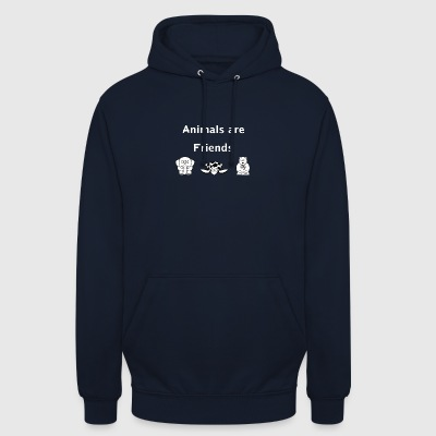 Animals are friends - Unisex Hoodie