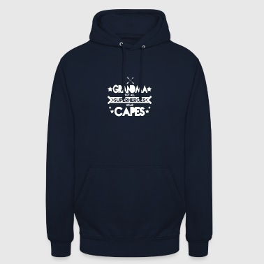 Grandma - Grandma not all superheroes wear capes - Unisex Hoodie