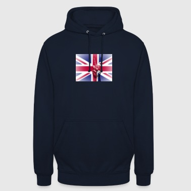 United Kingdom flagga - Luvtröja unisex