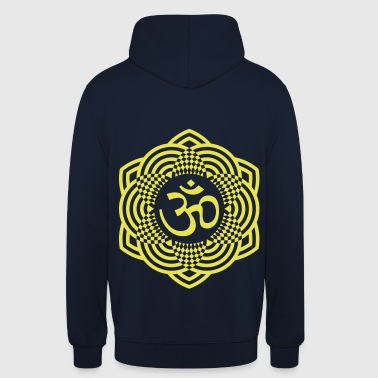 mantra om - Sweat-shirt à capuche unisexe