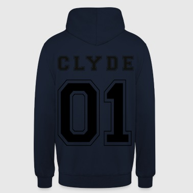 CLYDE 01 - Black Edition - Unisex Hoodie