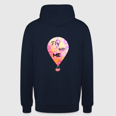 Hobby luftballong - Fly With Me - Luvtröja unisex